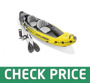 Intex Explorer K2 Inflatable Canoe