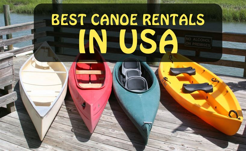 canoe rentals in usa services