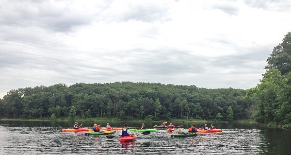 canoing in Mostate parks