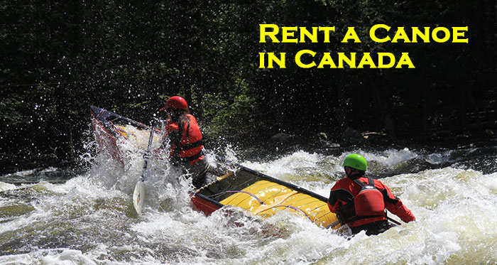 best rent a canoe in canada