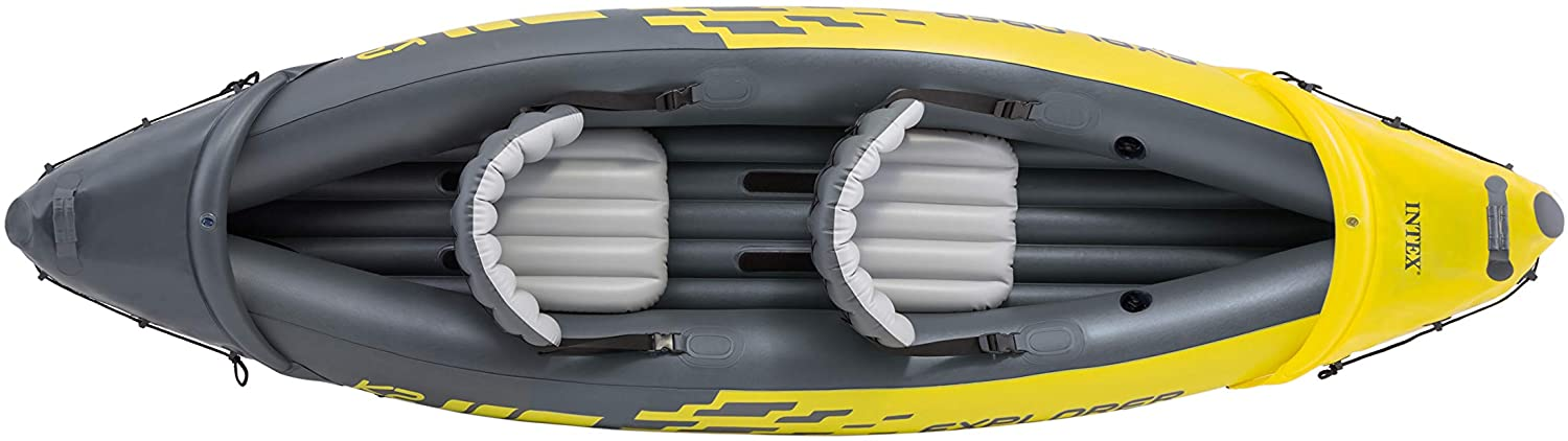 intex explorer k2 2 person inflatable kayak