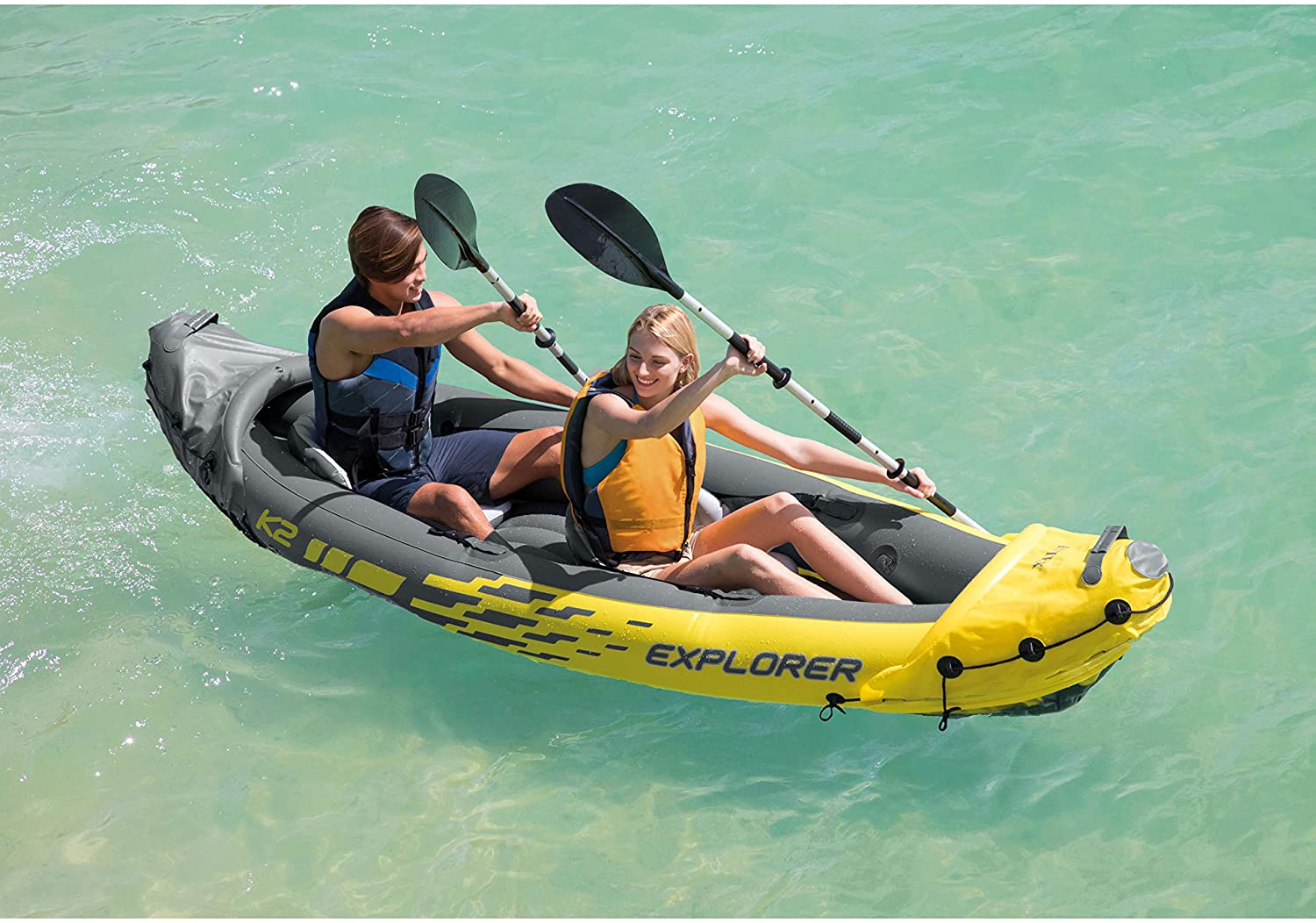 explorer inflatable kayak